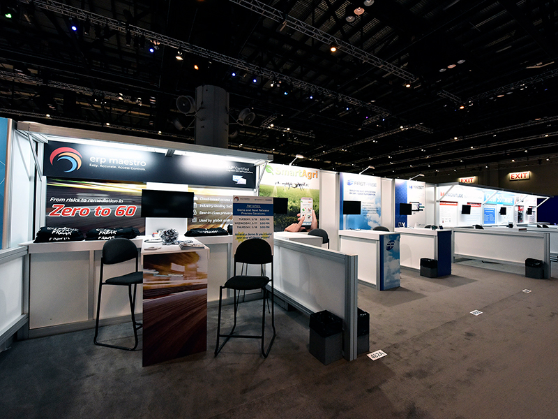 Ruby Turnkey Booth