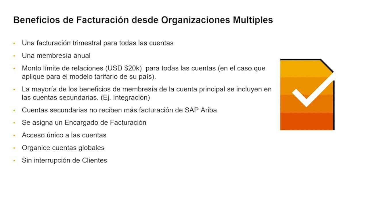 Supplier Digital Summit - Administrando múltiples cuentas en Ariba Network