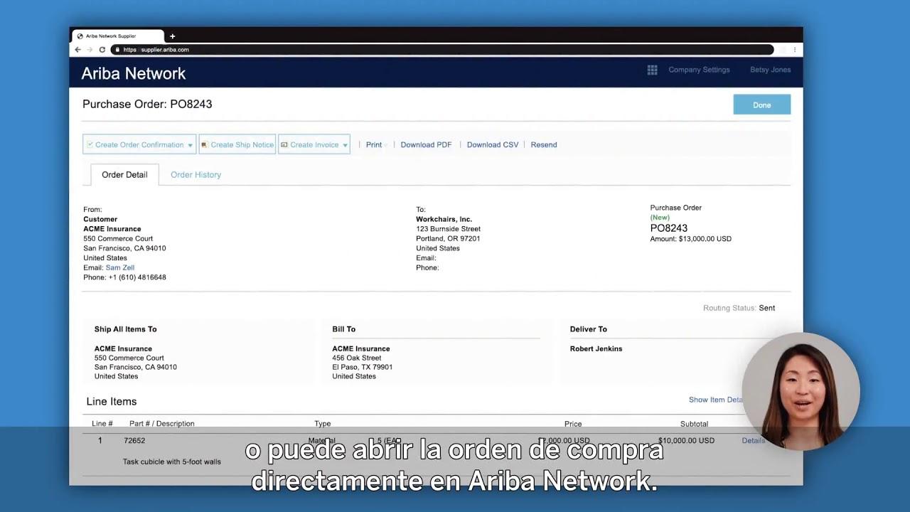 Video Launchpad para Proveedores: Facturación electrónica