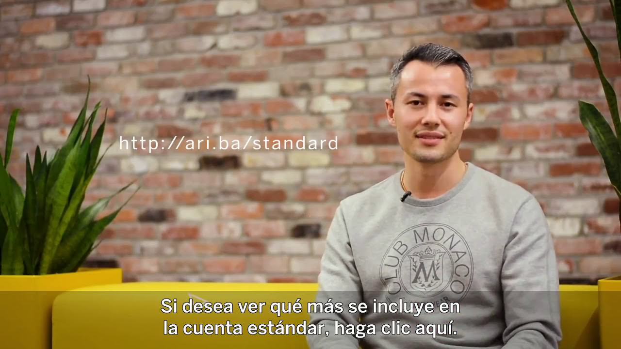 Video Launchpad para Proveedores: Cuenta Standard