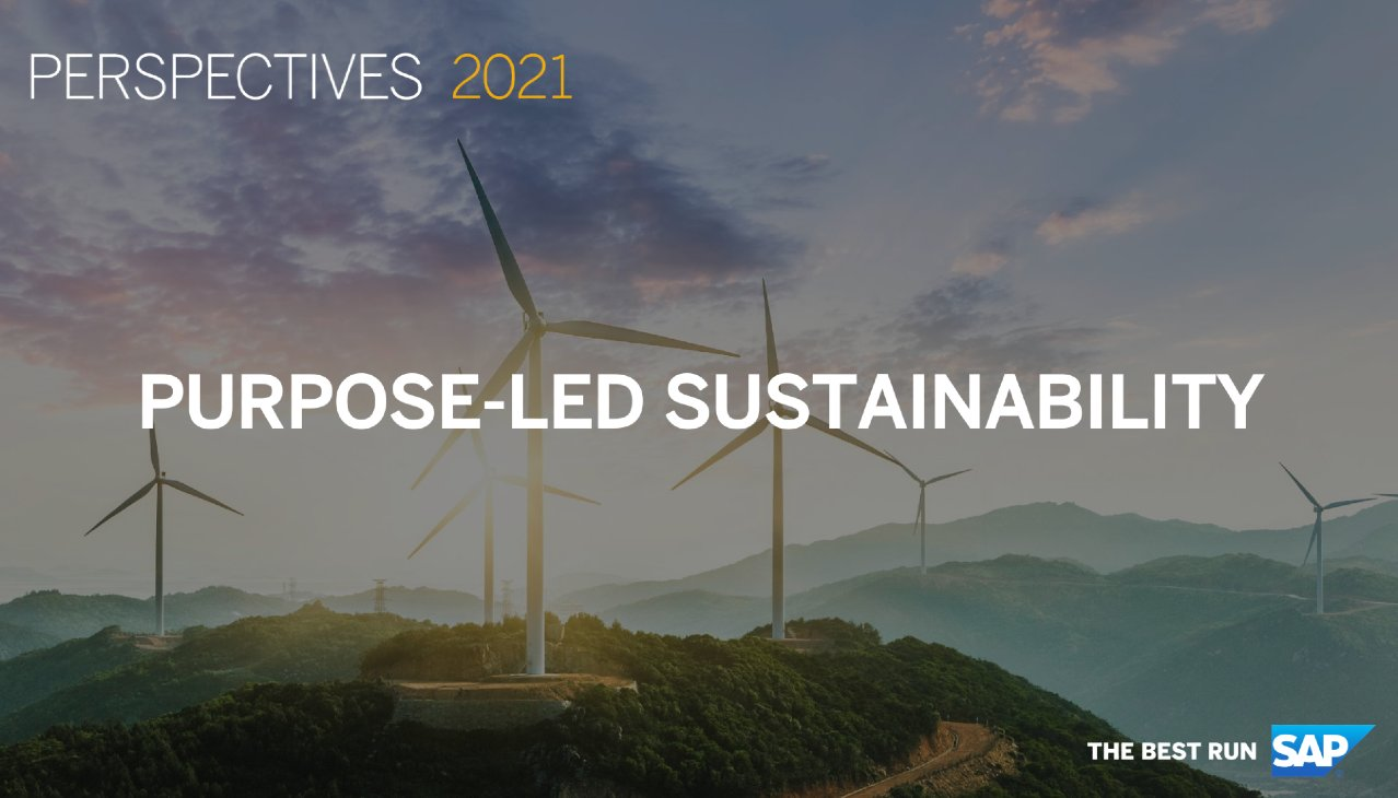 Perspectives 2021 Session Replay: Purpose-led Sustainability