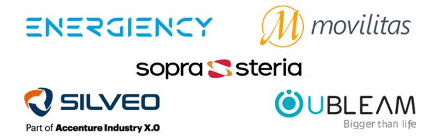 Energiency - Movilitas - SILVEO - Sopra Steria - UBleam