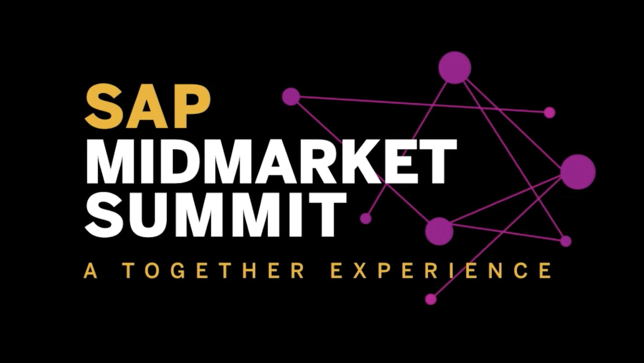 SAP Midmarket Summit - 3rd November Teaser Video