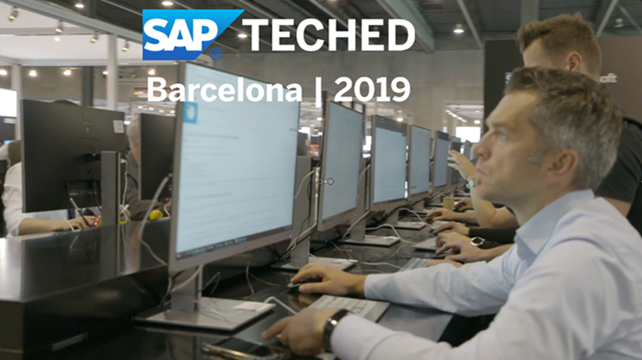 SAP TechEd Barcelona in 2019 - Highlights