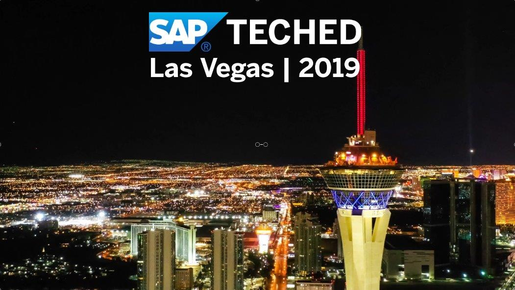 SAP TechEd Las Vegas in 2019 - Highlights, Las Vegas 2019